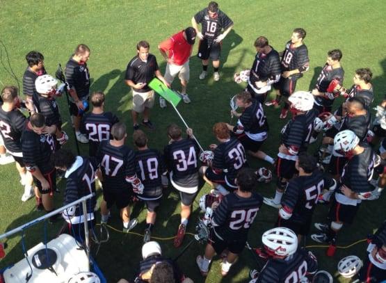 chapman lacrosse huddle