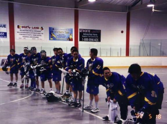 Edmonton box lacrosse Kugluktuk