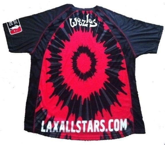 2011 Woozle Lacrosse Jersey