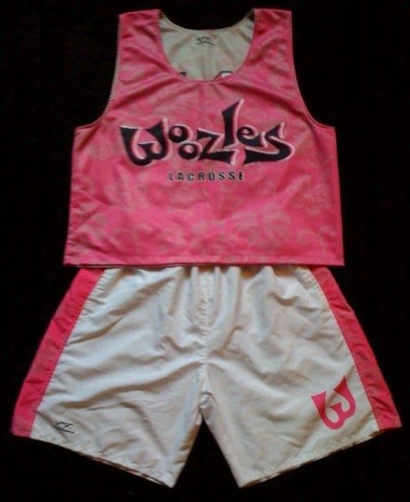 2009 Woozles Lacrosse Club Uniform