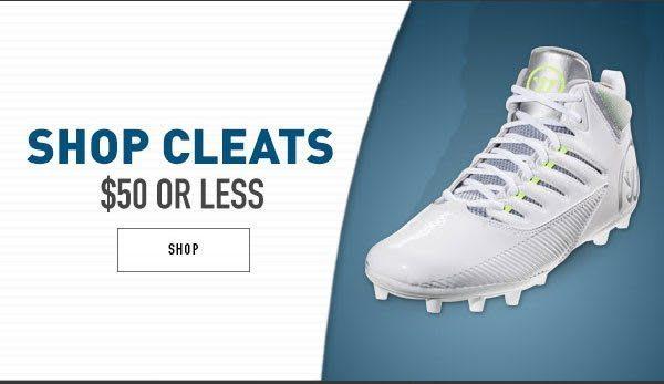 Shop Lacrosse Cleats $50 or less