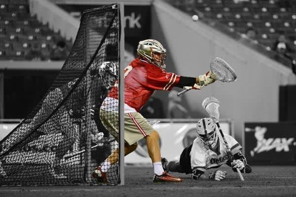 Ohio State goalie photo credit: Tommy Gilligan
