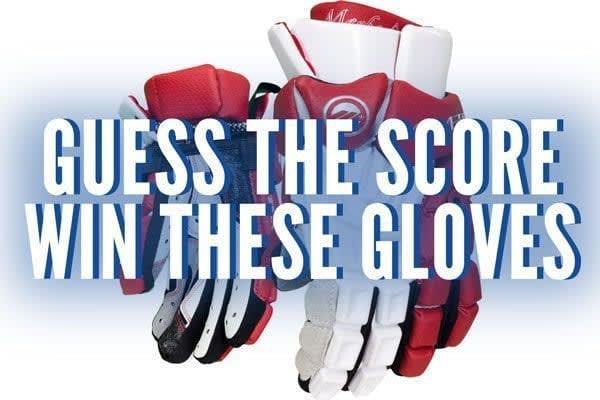 Maverik Red Maybach Deuce glove giveaway