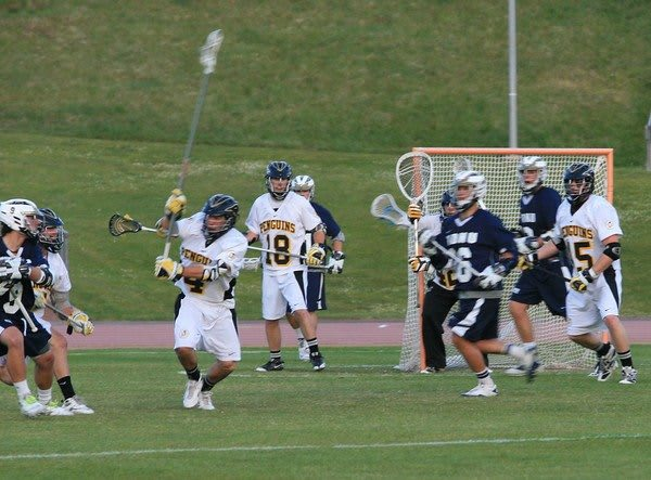 NDNU lax Dominican Lacrosse Battle by the bay 2011
