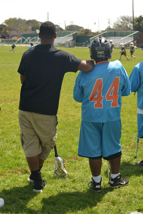 Kevin Kelly of the Oakland Lacrosse Club