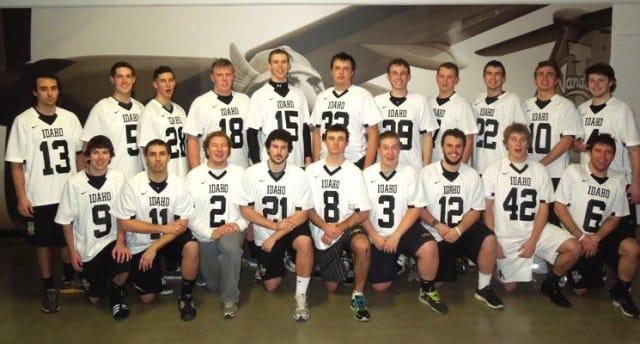 The 2013 University of Idaho Men's Lacrosse Team