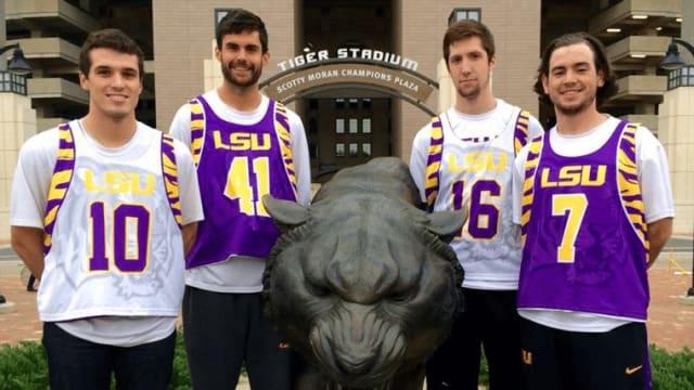 Josh Henderson Wolf of the MCLA LSU Tigers MCLA Lacrosse