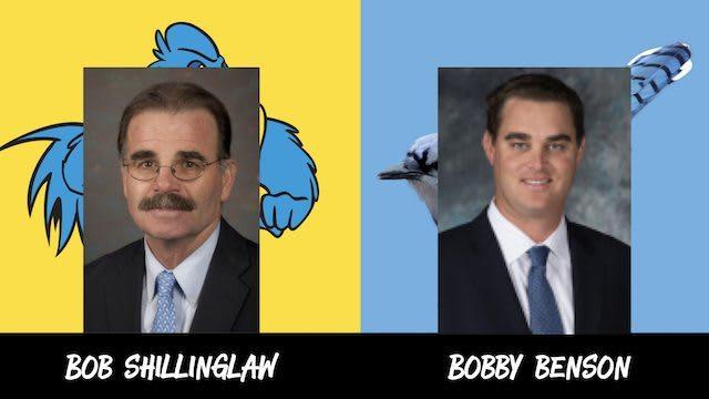 Bob Shillinglaw and Bobby Benson