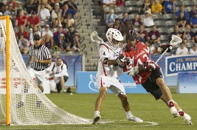Canada vs USA Gold Medal game Mark Matthews 2014