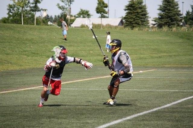 Brandon Biron - Nova Scotia team lacrosse