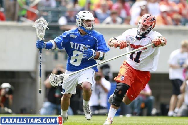 ACC Duke Beats Syracuse 16-10 For Division 1 title.