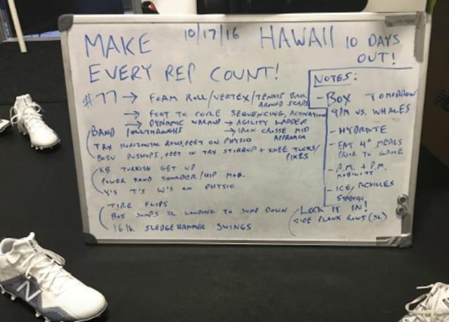 malcolm chase lacrosse workout plan