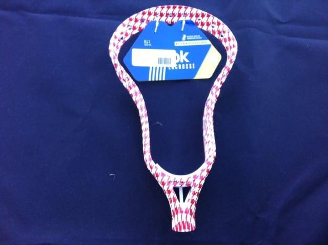 Reebok Lacrosse head houndstooth