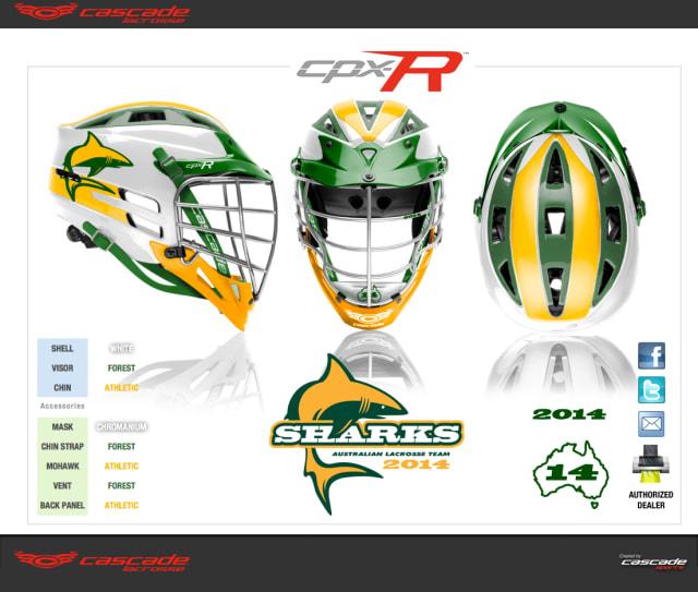 Cascade and Maverik Gear for Team Australia