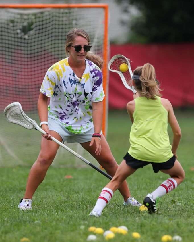 Kylie Ohlmiller women's lacrosse is limitless