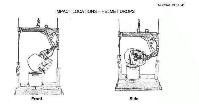 NOCSAE Helmet Testing