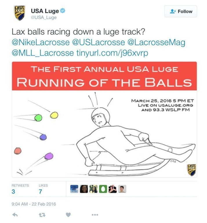 Spotted: USA Luge