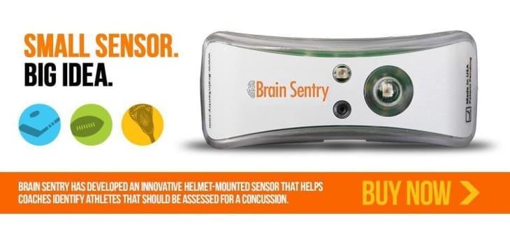 brain sentry helmet impact sensor