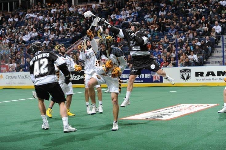 Minnesota Swarm vs Edmonton Rush NLL Photo Credit: Dale MacMillan
