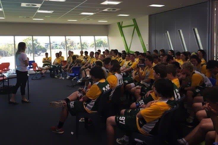 Australia U19 Lacrosse1