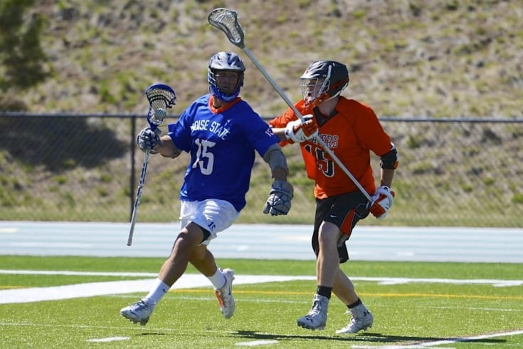 Adam Smith Wolf of the MCLA Boise State