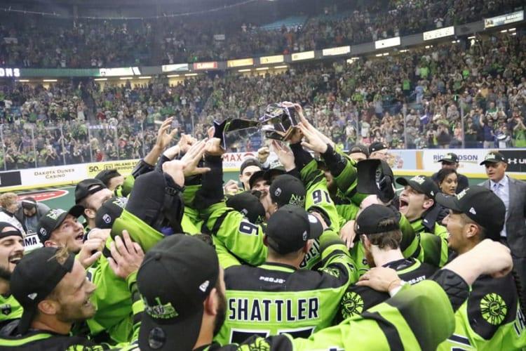 Saskatchewan Rush NLL 2018 NLL Championship NLL Cup