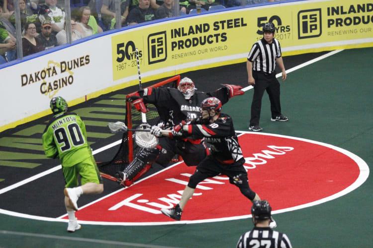 Saskatchewan Rush Calgary Roughnecks NLL Playoffs 2018