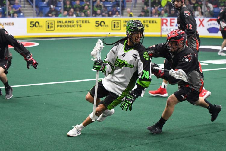 Jeremy Thompson Saskatchewan Rush Vancouver Stealth NLL 2018