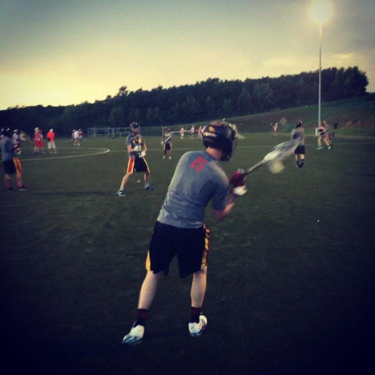 Belgium lacrosse team practice