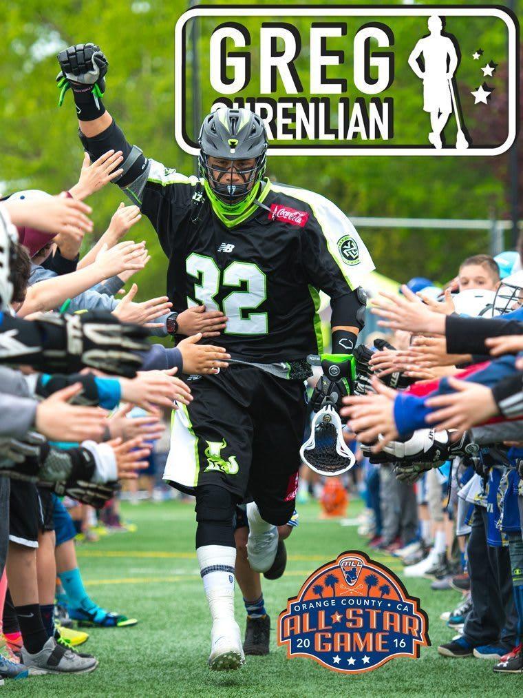Greg Gurenlian - major league lacrosse all stars by brand