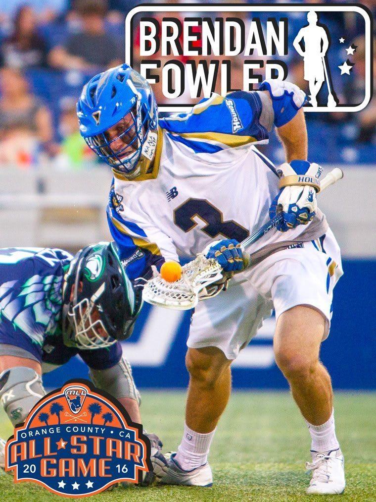 Brendan Fowler - Major League Lacrosse All Stars by Brand