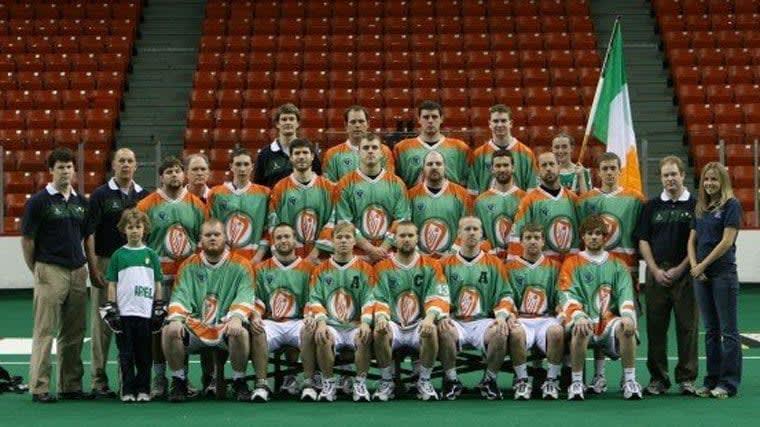 2007 Irish Indoor National Lacrosse Team