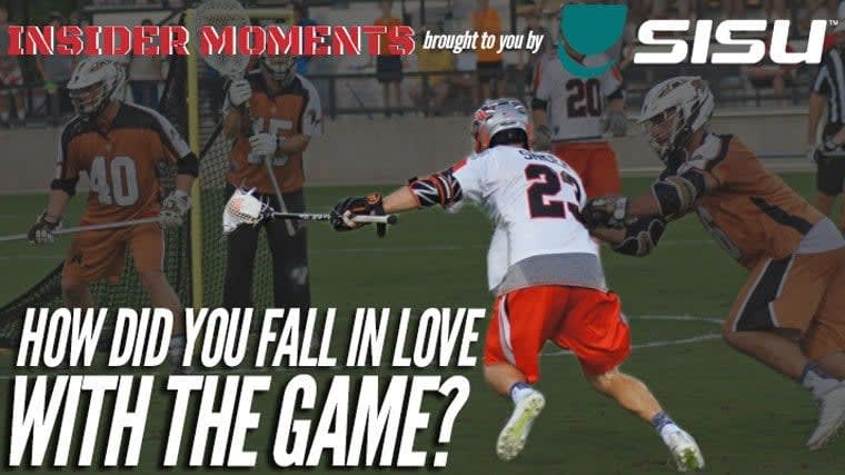 Drew Snider pro lacrosse player Insider Moment presented by SISU Guard