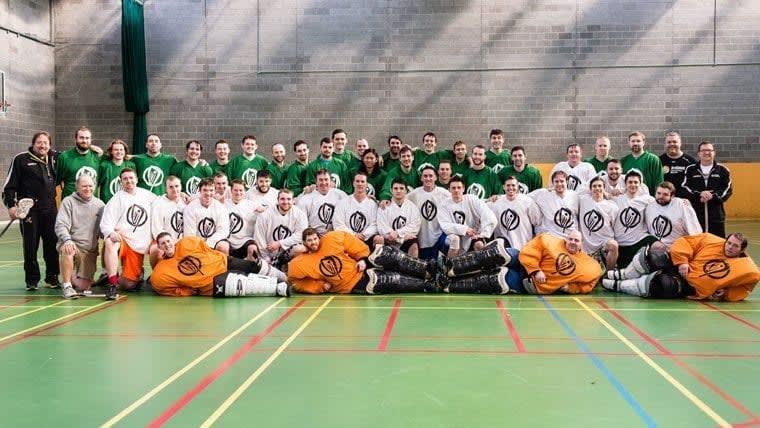Ireland Lacrosse 2015 National Team Trials Dublin