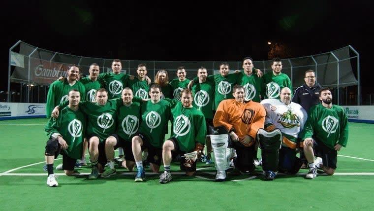 Ireland box lacrosse European Indoor Lacrosse Championship