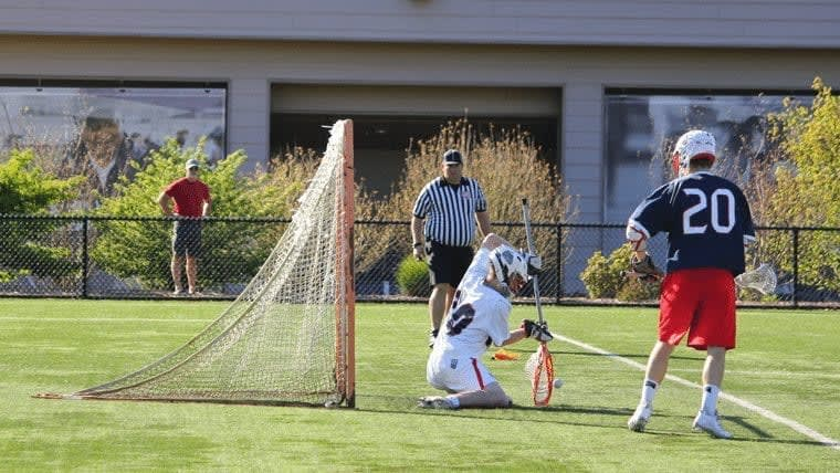 Gaelen Murray Gonzaga Lacrosse WOlf of the MCLA