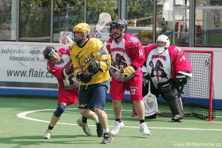London Knights Ales Hrebesky Memorial 2015 box lacrosse tournament