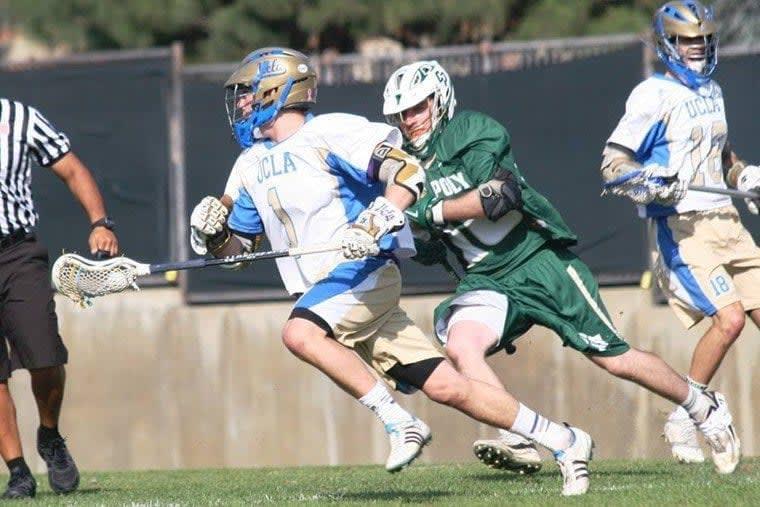 Trey Scott UCLA MCLA lacrosse