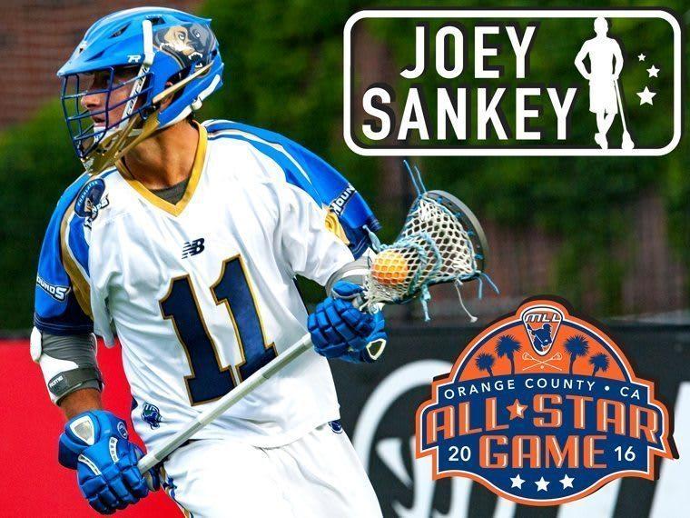 JOEY SANKEY - major league lacrosse all stars by brand