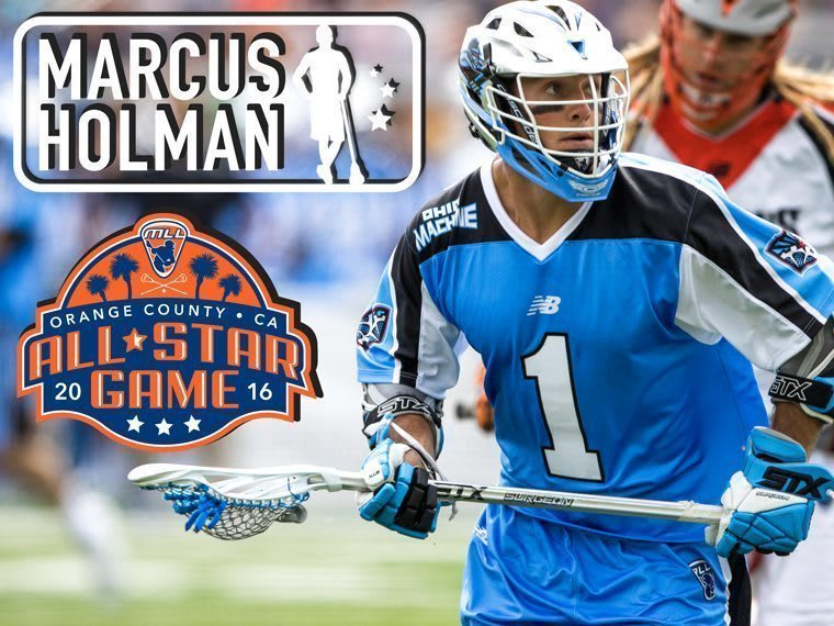 Marcus Holman - Major League Lacrosse All Stars by Brand
