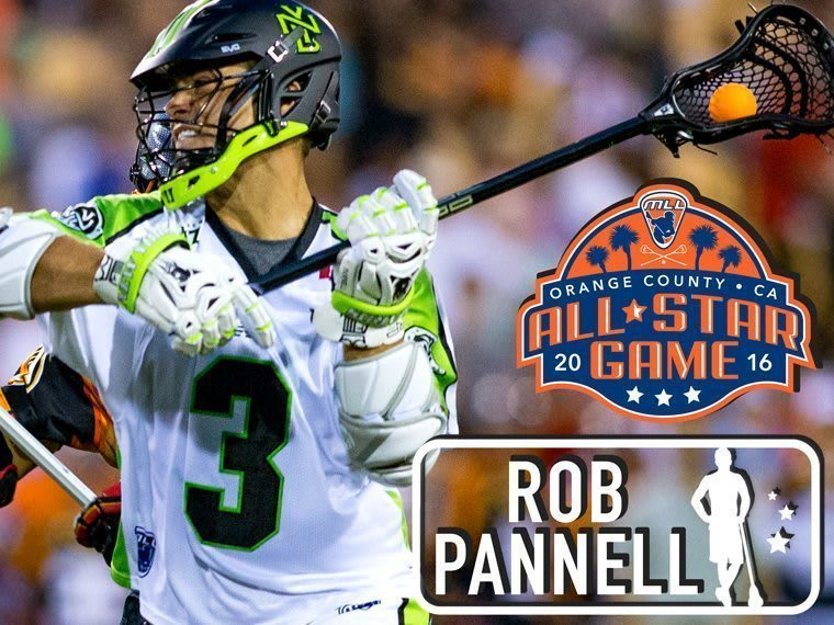 ROB PANNELL - Major League Lacrosse All Star