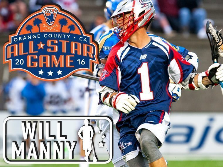 WILL MANNY - major league lacrosse all stars by brand