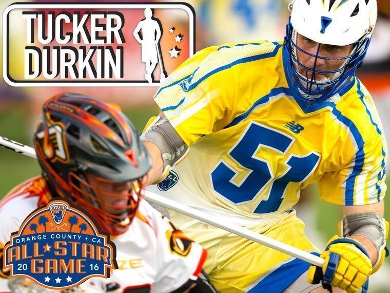 TUCKER DURKIN - major league lacrosse all stars by brand