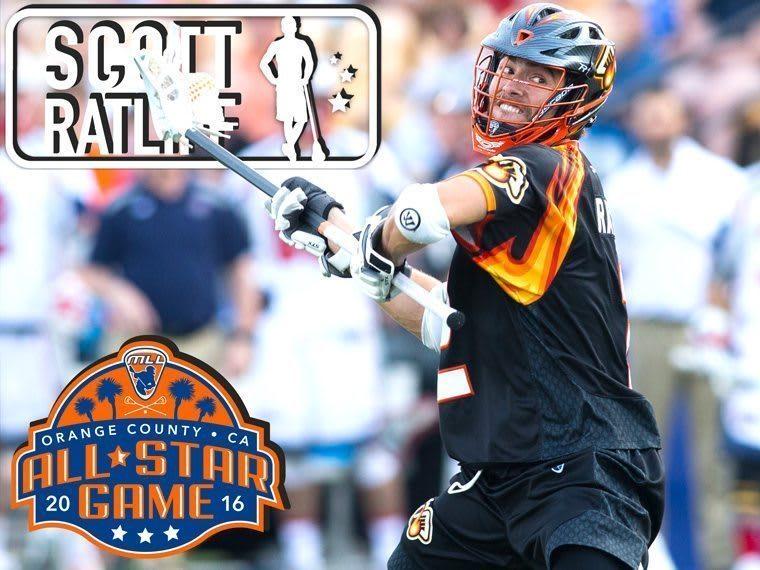 SCOTT RATLIFF - major league lacrosse all stars by brand