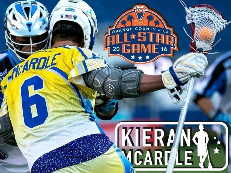 KIERAN MCARDLE - major league lacrosse all stars by brand
