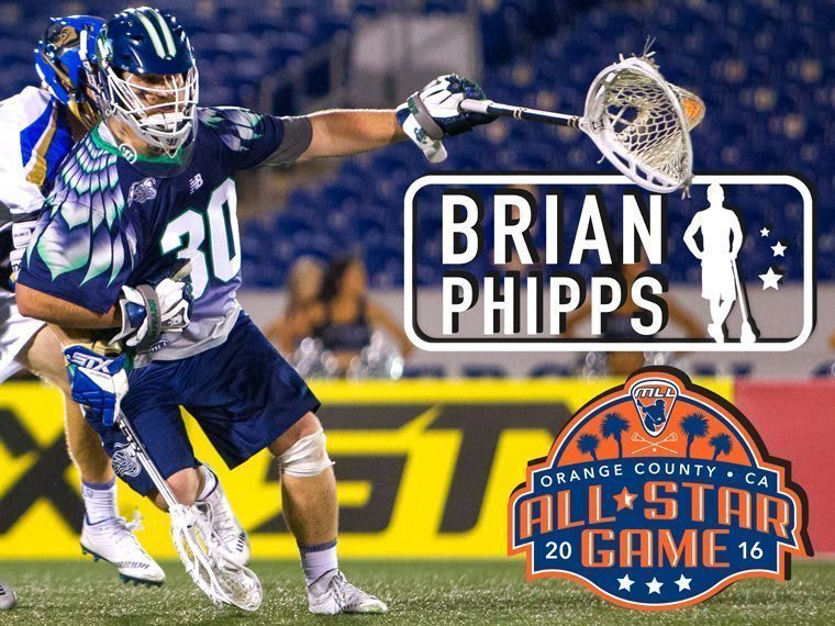 BRIAN PHIPPS - major league lacrosse all stars by brand