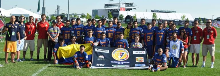 colombia lacrosse grow the game international