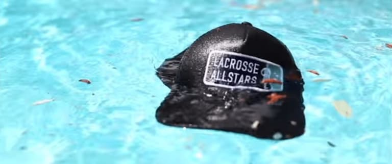 Poolside with Lacrosse All Stars