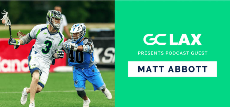 Matt Abbott Game Changer Lacrosse Podcast Chesapeake Bayhawks