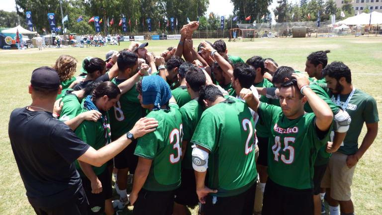 Team Mexico's Final Huddle top photos purple group